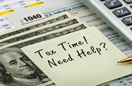 income tax return preparation